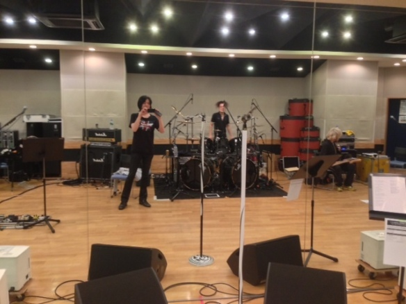Anime Kohaku rehearsal