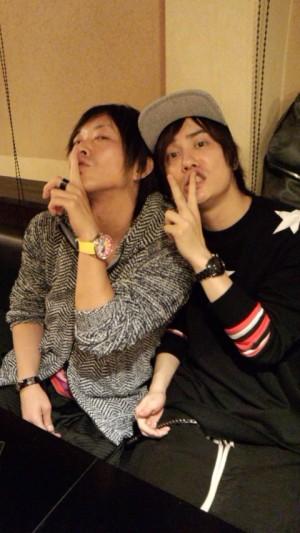 Kiiyan and Tatsu